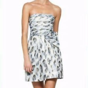 BCBG haze strapless dress